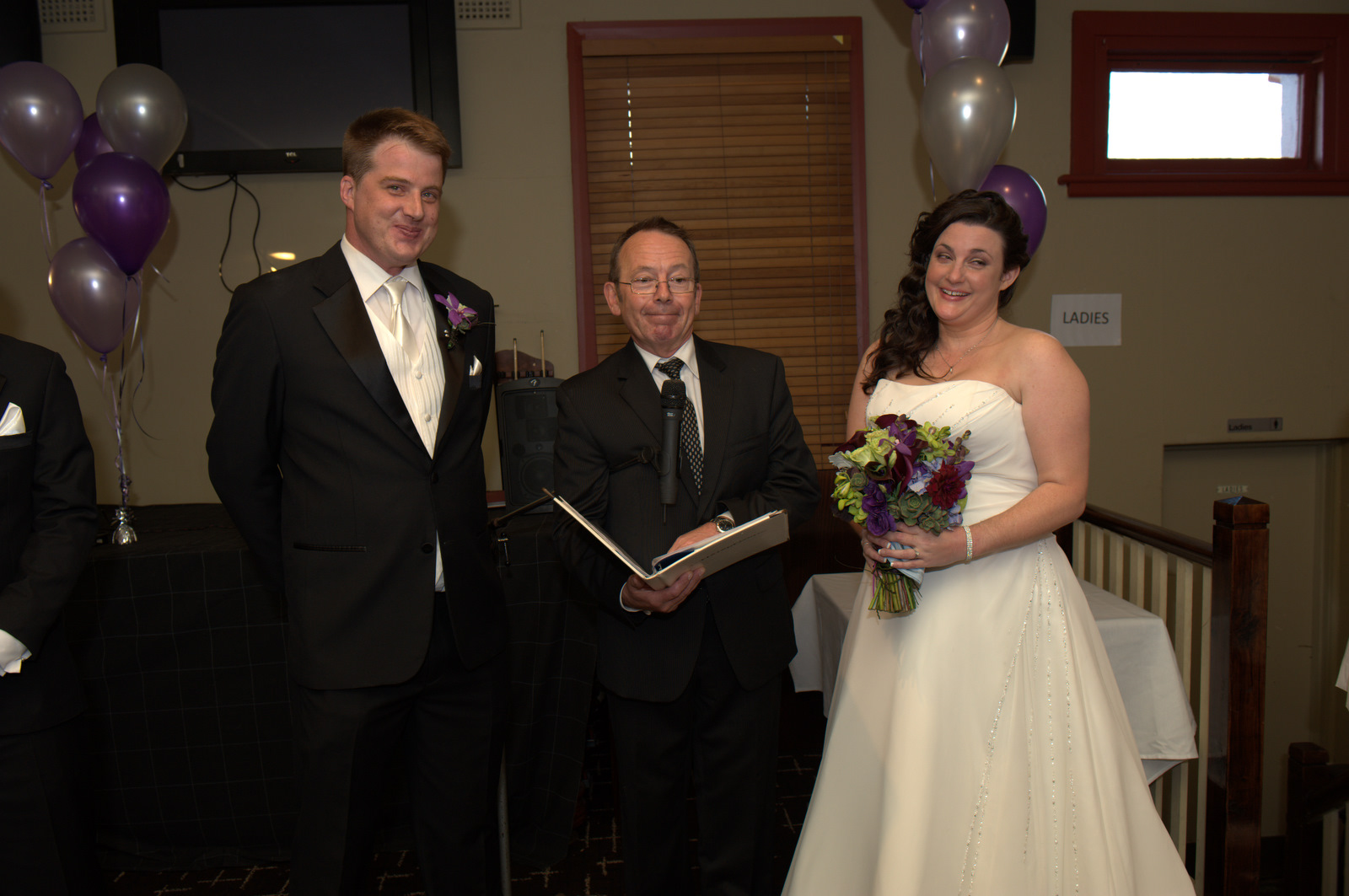 SHERRY AND MURRAY wedding